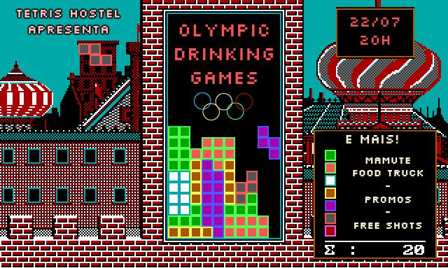 Olympic Drinking Games + Mamute Food Truck
